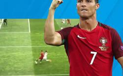 Enlace a El caño monumental de Cristiano Ronaldo en su último partido frente a Suiza