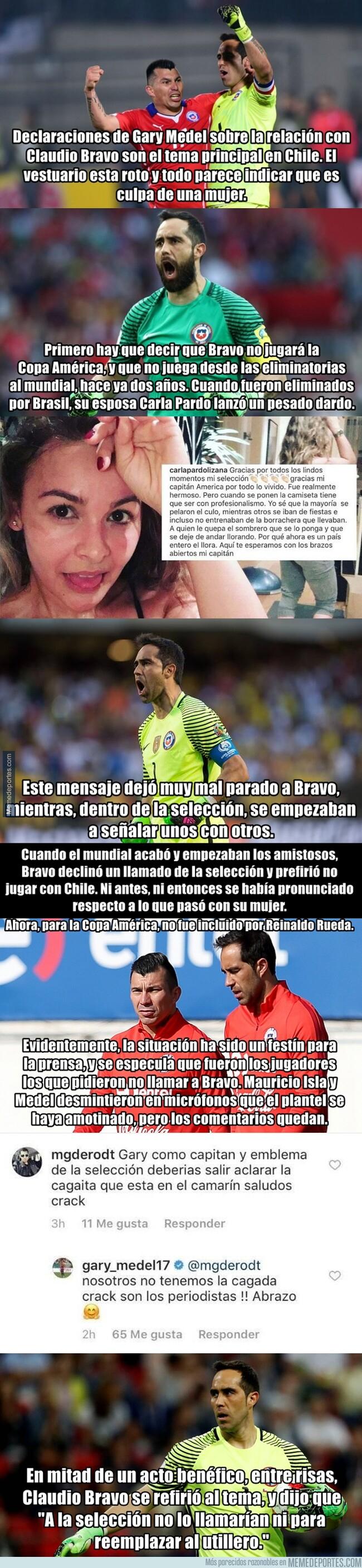 1077294 - ¿Qué está pasando en Chile con Claudio Bravo?
