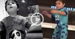 Enlace a Os dejo un compilado de vídeos de Mateo Messi por si habéis tenido un mal día