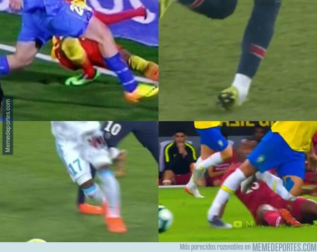 1077400 - ¿Pero qué tiene Neymar en esos tobillos?