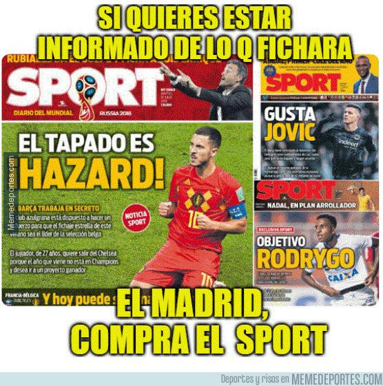 1077482 - Si quieres estar informado de lo q fichará el Real Madrid... compra el Sport