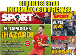 Enlace a Si quieres estar informado de lo q fichará el Real Madrid... compra el Sport