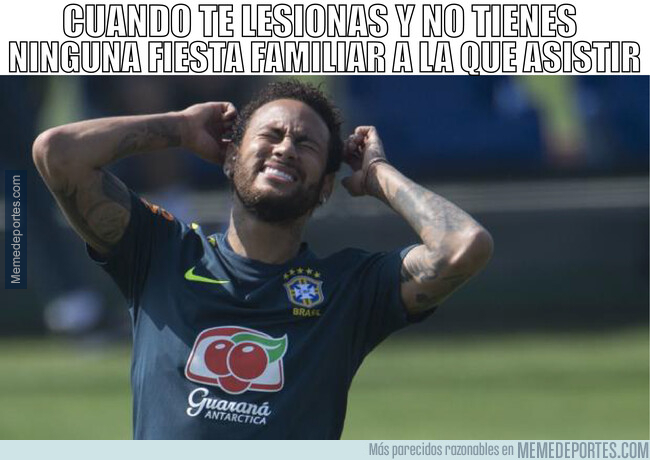 1077516 - Neymar sufrirá este tiempo de recuperación