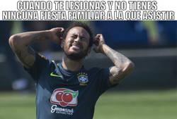Enlace a Neymar sufrirá este tiempo de recuperación