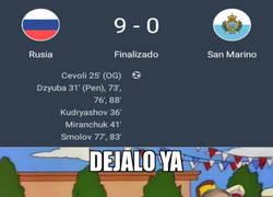 Enlace a Rusia se ceba con la pobre San Marino