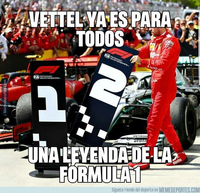 1077624 - Vettel ya es para todos una leyenda de la Fórmula 1
