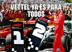 Enlace a Vettel ya es para todos una leyenda de la Fórmula 1