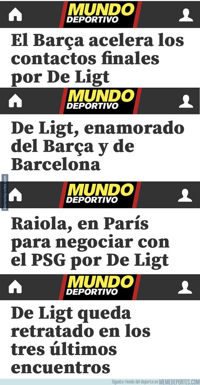 1077903 - Diario de un fichaje frustrado por el Barça