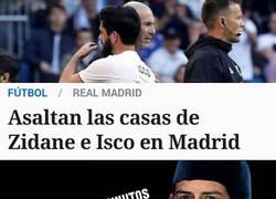 Enlace a ¿Quién podría tener algo en contra de Zidane y de Isco?