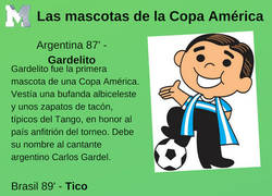 Enlace a Todas las mascotas de la historia de la Copa América