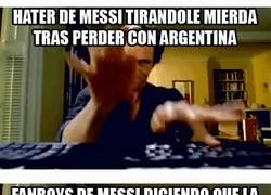Enlace a A Messi se le odia con todo o se le ama con todo