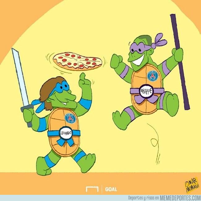 1078286 - El PSG está reuniendo a las Tortugas Ninja, por @goalglobal