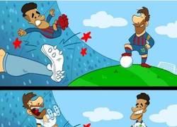Enlace a Messi y Coutinho brillan en sitios opuestos, por @goalglobal