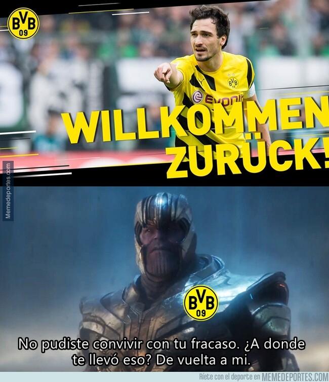 1078652 - El Dortmund es como la MLS de los jugadores del Bayern que venían del Dortmund