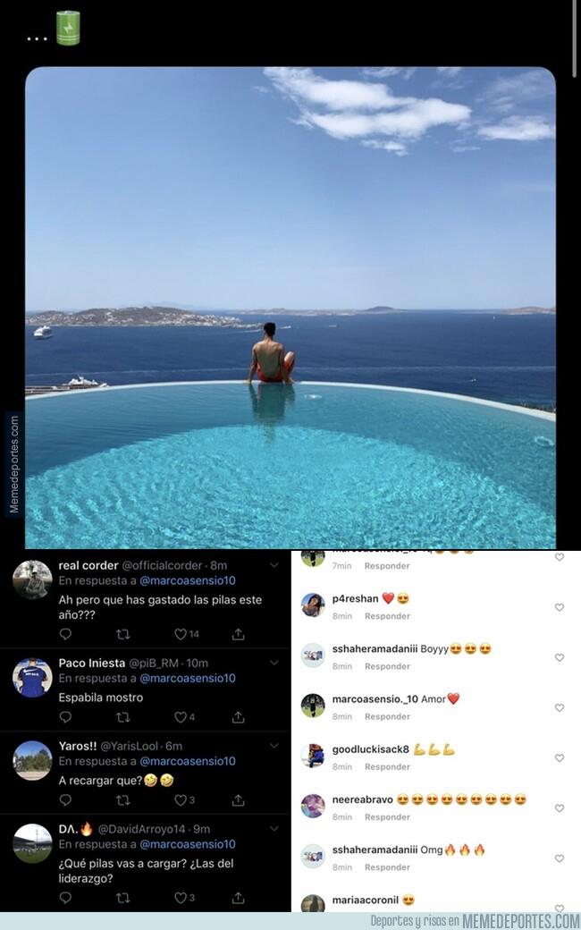1078658 - Un post de Asensio demuestra lo tóxico que es Twitter y lo fanfarrón que es Instagram