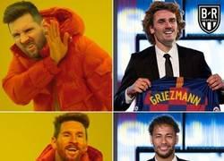 Enlace a Messi prefiere a Neymar antes que a Griezmann, por @brfootball