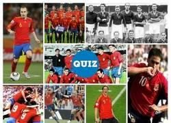Enlace a TEST: ¿Sabrías decir a qué año/competición corresponde cada una de estas camisetas de la selección española de fútbol?