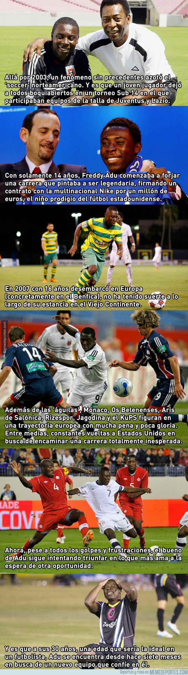 1078758 - Nadie quiere al que fue el nuevo Pelé, que ya tiene 30 años