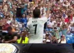 Enlace a Raúl anota en el Corazón Classic Match como en los viejos tiempos