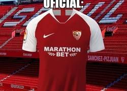 Enlace a La nueva segunda equipación del Sevilla parece sacada del Emirates