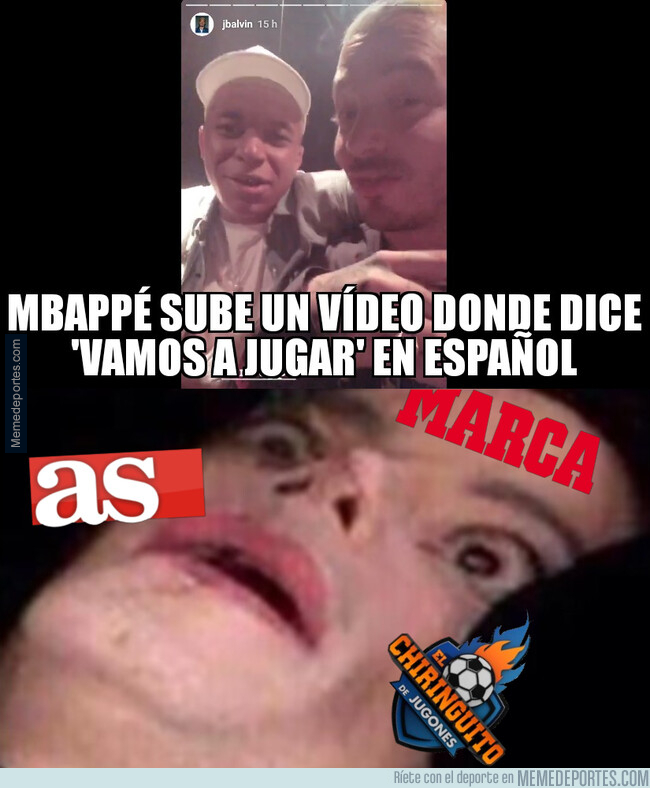 1079351 - ¡Paren las rotativas! ¡Mbappé ha hablado en español!