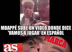 Enlace a ¡Paren las rotativas! ¡Mbappé ha hablado en español!