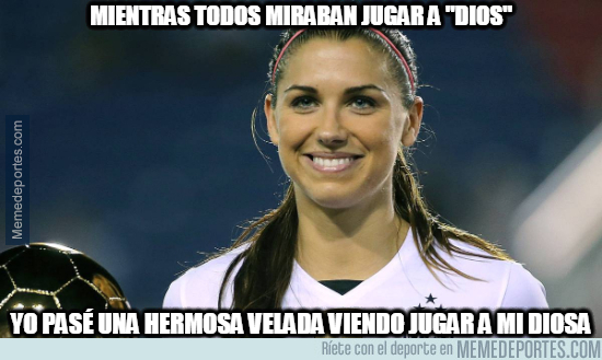 1079515 - Hermosa velada que me ha regalado Alex Morgan