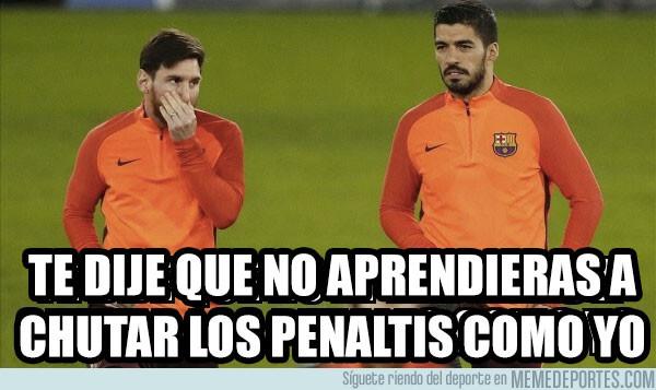 1079637 - Suárez no debió aprender eso de Messi