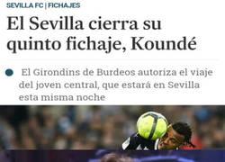 Enlace a Al Sevilla le cunde fichar a Koundé