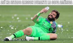 Enlace a El resumen de la Copa de Alisson. Cero goles