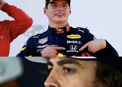 Enlace a Verstappen ganando con motor Honda (aunque siga siendo el peor de la parrilla) y Alonso...