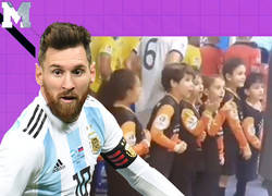 Enlace a La genial reacción de todos estos niños al ver a Leo Messi antes de su partido de Copa América frente a Brasil