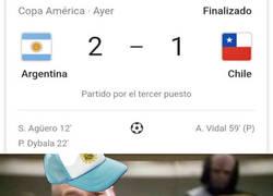Enlace a Argentina ganó a Chile, pero ya podría haber sido antes