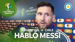Enlace a Messi destroza a la Conmebol tras ser expulsado injustamente en su partido contra Chile