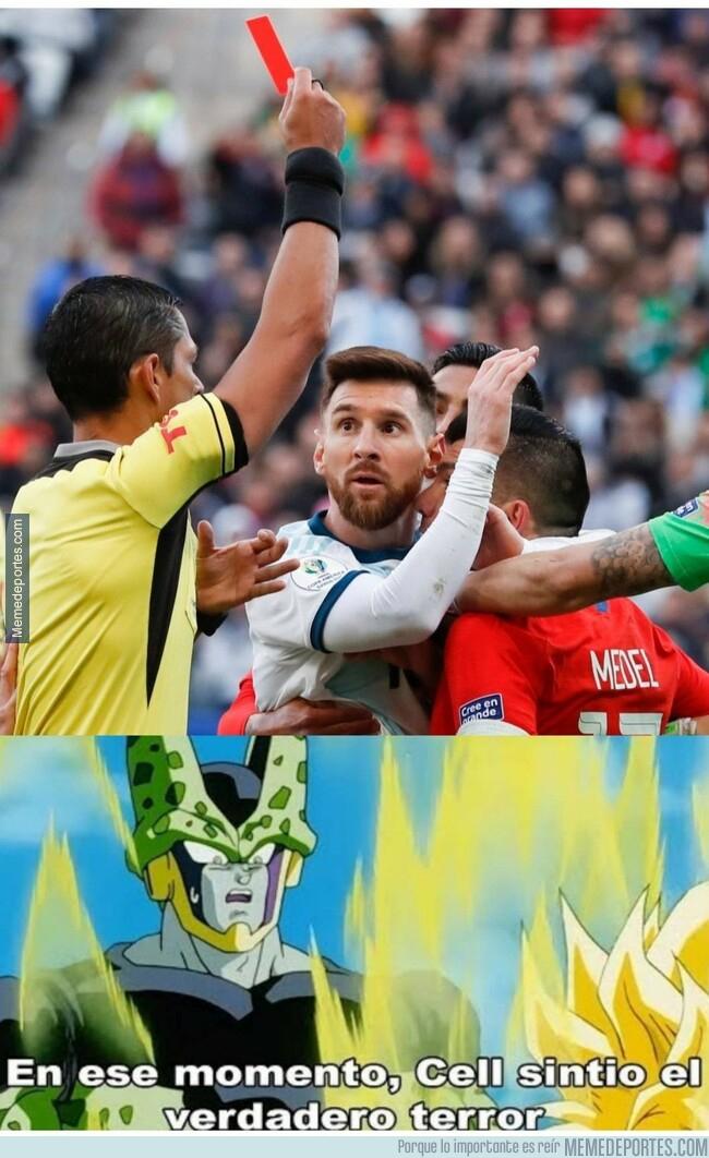 1080427 - La expulsión de Messi