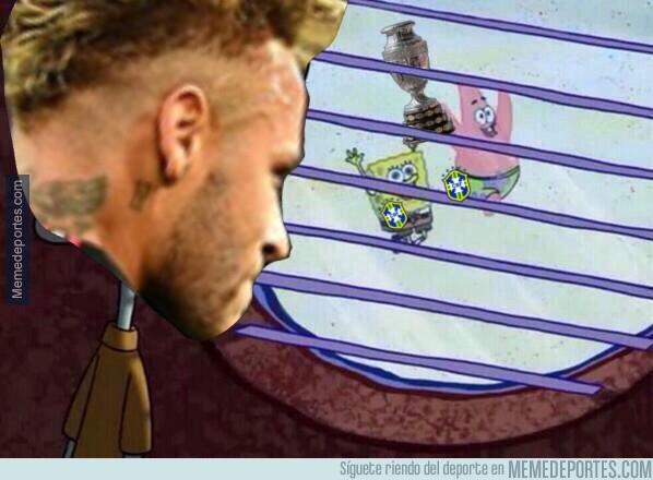 1080503 - Neymar no ha podido disfrutar de este título brasileño