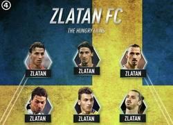 Enlace a El once ideal de Zlatan