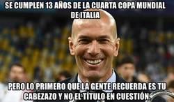 Enlace a Lo que logró Zidane aquella noche
