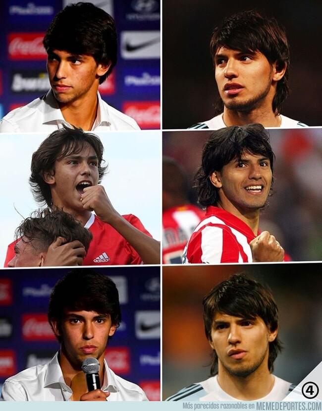 1080701 - Las similitudes entre Joao Félix y el Kun cuando llegó al Atlético, por @433