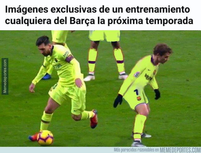 1080962 - Griezmann empezará a sufrir a Messi a diario