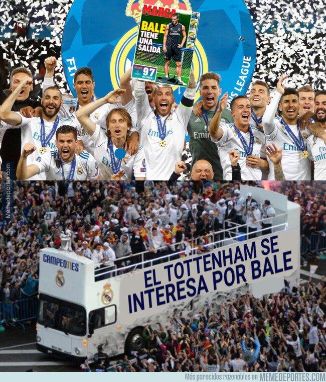 1081185 - El Tottenham quiere fichar a Bale, todo un logro para el madridismo