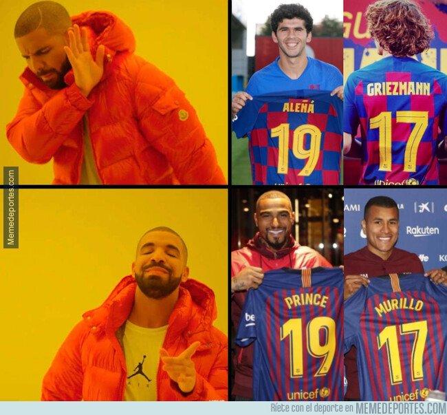 1081187 - El '19' y el '17' del Barça ya no son lo que eran