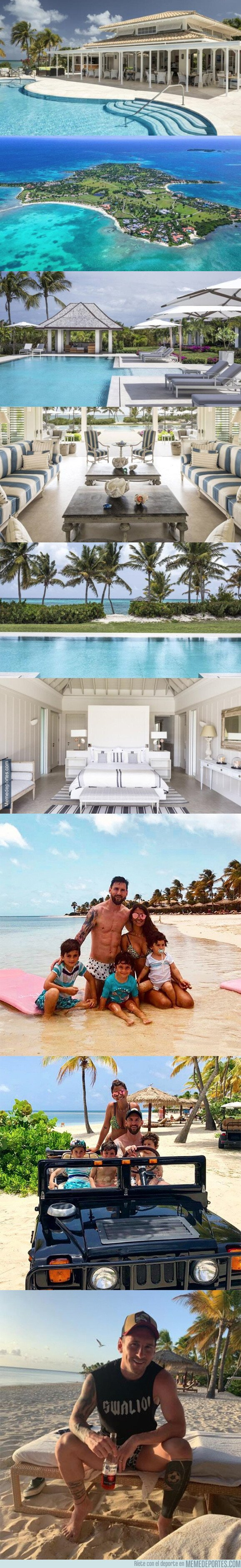 1081401 - Este es el alucinante hotel donde Messi y su familia se han ido durante vacaciones