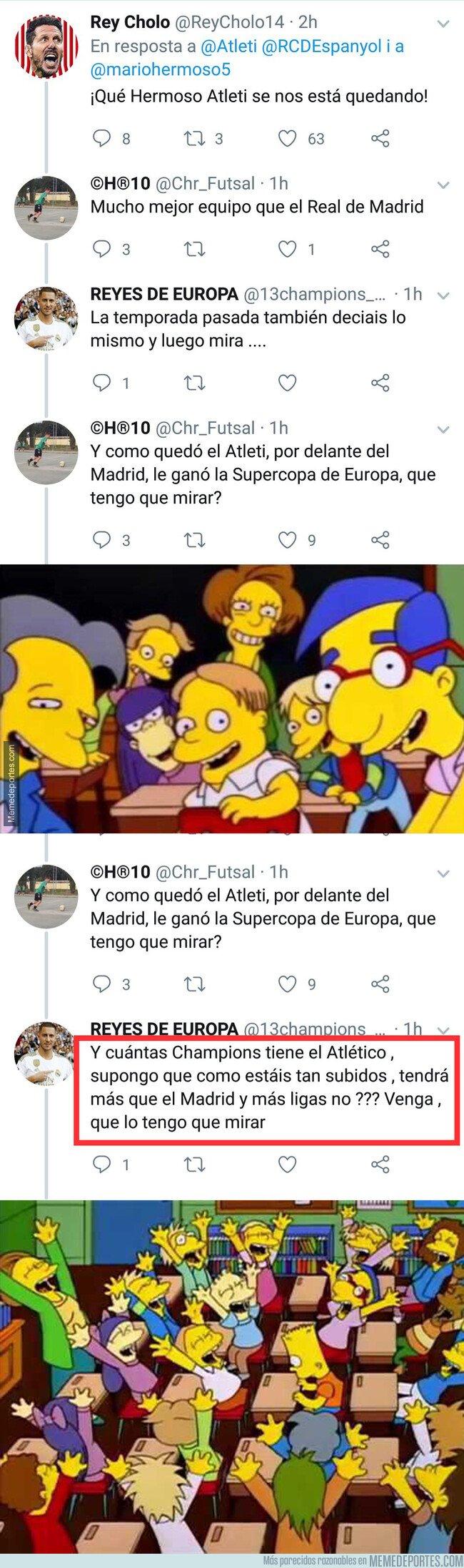 1081427 - La conversación de Twitter que retrata los argumentos de los madridistas