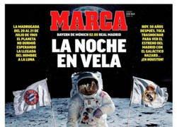 Enlace a Cuando comparan la primera vez que el hombre pisó la luna con un amistoso del Madrid