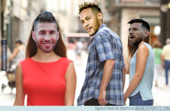 1081557 - Me sé de uno que se habrá puesto celoso después de las declaraciones de Neymar sobre Ramos alabándolo como jugador...
