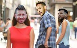 Enlace a Me sé de uno que se habrá puesto celoso después de las declaraciones de Neymar sobre Ramos alabándolo como jugador...