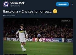 Enlace a El pique entre Barcelona y Chelsea calentando el amistoso de hoy