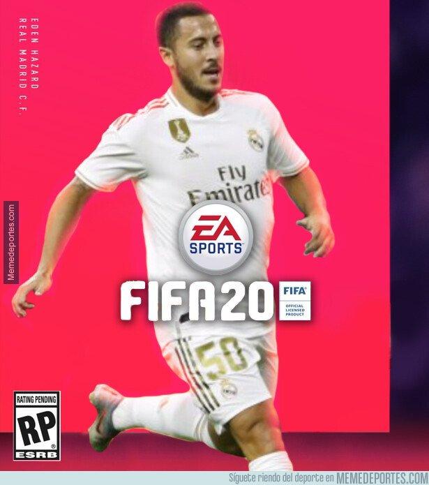 1082052 - La portada del FIFA será Hazard. Mira qué guapo ha salido