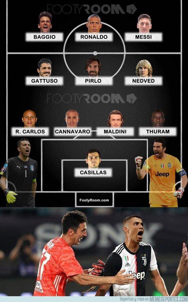 1082072 - Buffon elige su 11 ideal y que no adivinas a quien dejó fuera
